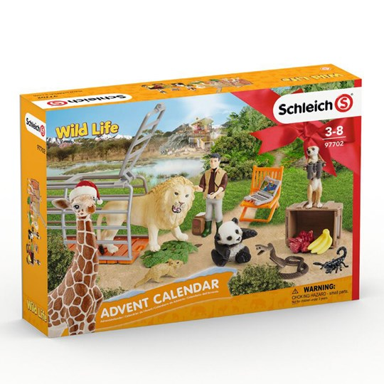 Schleich Wild Life Advent Calendar 2018 Yellow