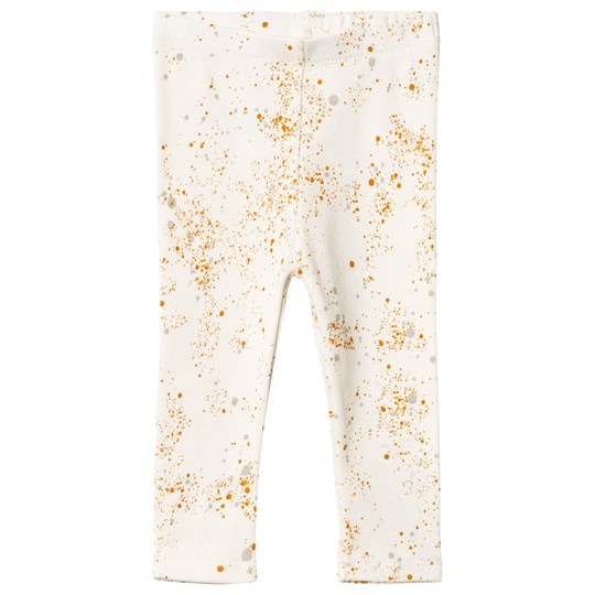 Soft Gallery Paula Baby Leggings Fluffy Sky Mini Splash Fluffy Sky, AOP Mini Splash Cream