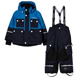 Tenson Skiing Snow Pants and Winter Jacket Set Breezy Blue