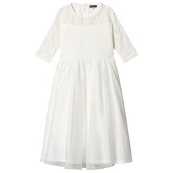 Jocko Tulle Dress Off White