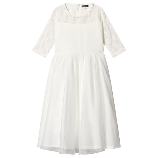 Jocko Tulle Dress Off White White