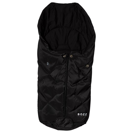BOZZ Duck Down and Wool Footmuff Black Black