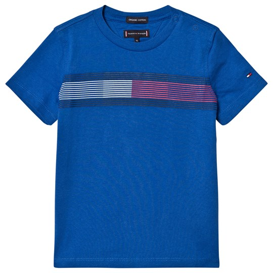Tommy Hilfiger Blue Flag Essential T-Shirt 401