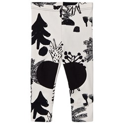 Papu Hidden Forest Patch Leggings White