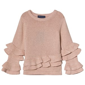 Image of Andy & Evan Pink Ruffle Sweater 4 years (3125283889)