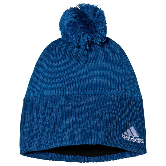 adidas Performance Blue Branded Beanie BLUE BEAUTY F10/SHOCK BLUE S16/WHITE