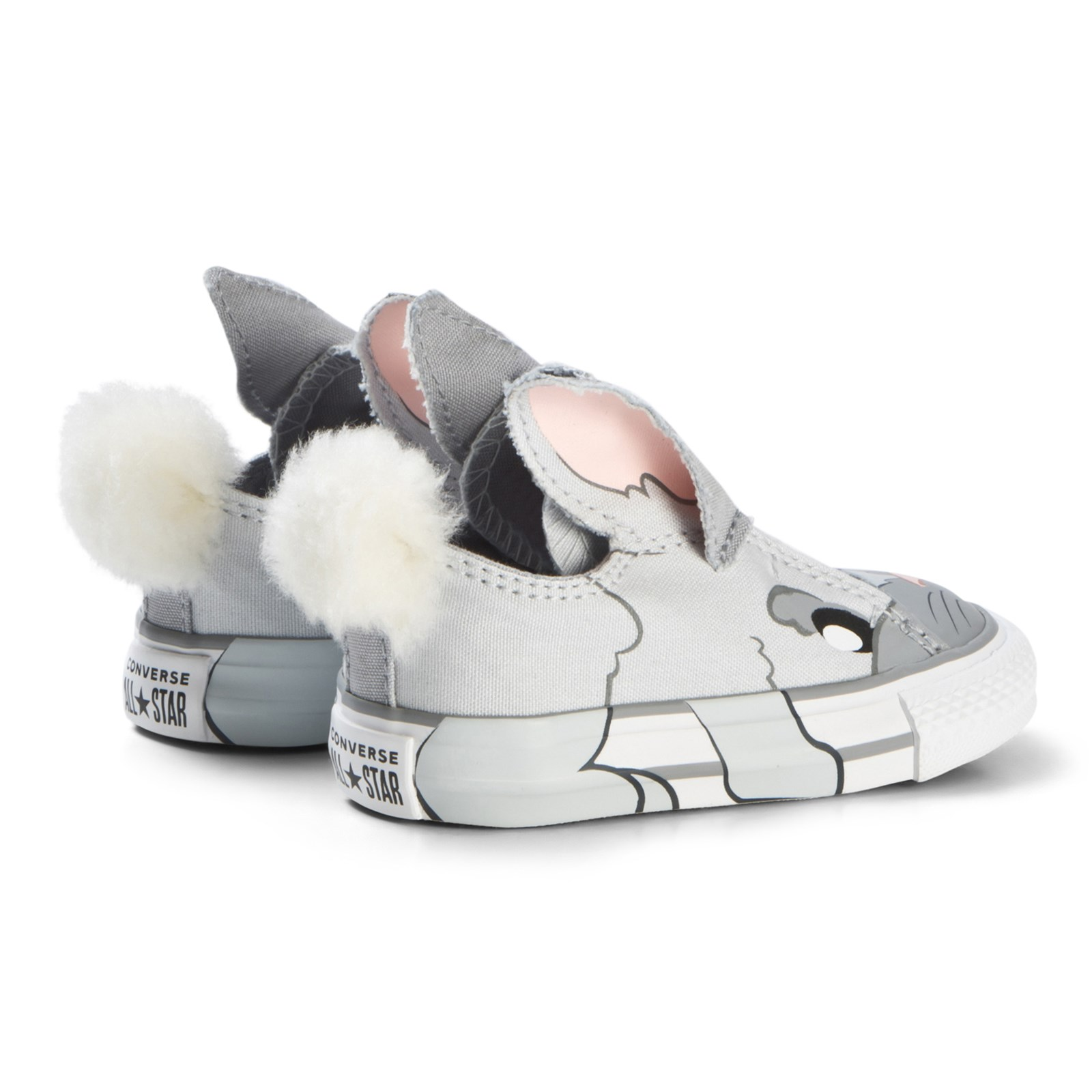 Converse - Grey Bunny Chuck Taylor All Star Infants Sneakers ...