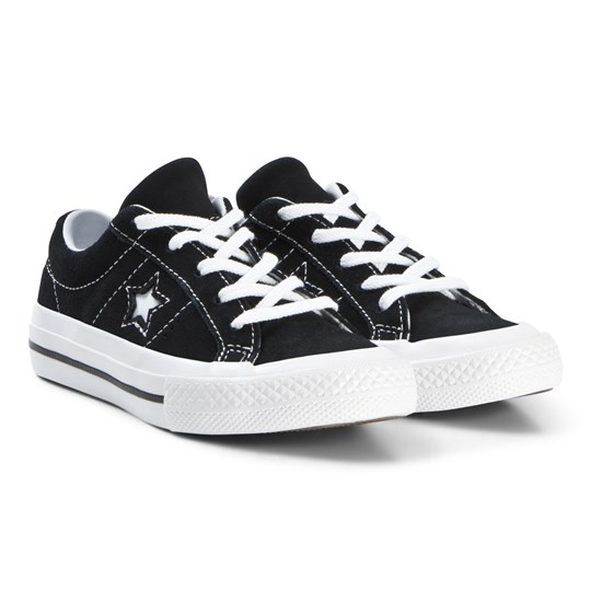 Converse One Star OX Sneakers Svart BLACK/WHITE/WHITE