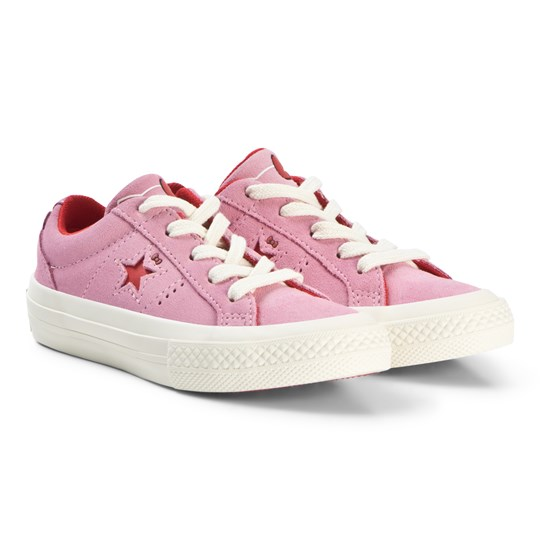 Converse Pink Hello Kitty One Star Sneakers Pink