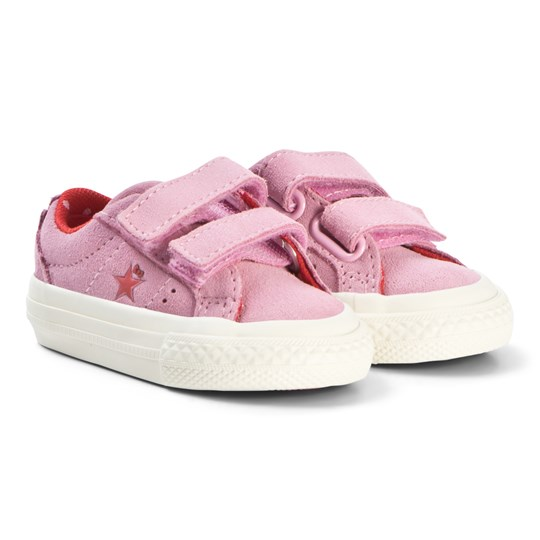 Converse Pink Hello Kitty One Star Velcro Sneakers Pink