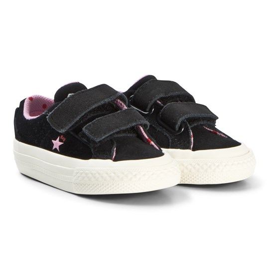 Converse Black Hello Kitty One Star Velcro Sneakers Black