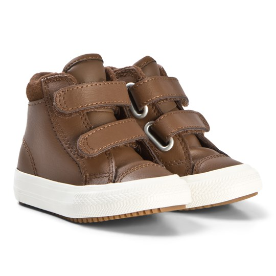 Converse Brown Chuck Taylor All Star PC Baby Hi-Top Sneakers CHESTNUT BROWN/BURNT CARAMEL