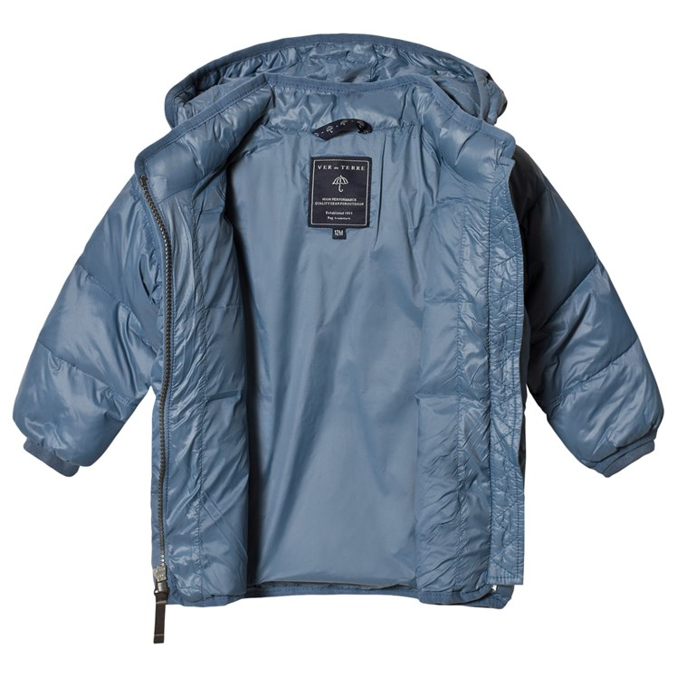 Ver de Terre Polar Blue Featherlight Jacket Babyshop.no