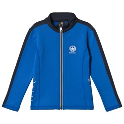 Bogner Blue & Navy Matt Full Zip Mid Layer