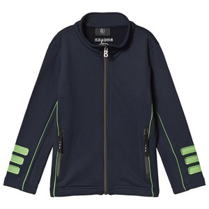 Image of Bogner Navy and Green Full Zip Knit Top L (10-11 years) (3125257173)