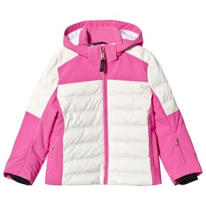 Image of Bogner Pink & White Demi-D Ski Jacket XL (12-13 years) (1161352)