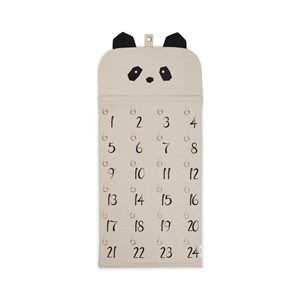 Liewood Julia Adventskalender Panda Beige Beauty One Size
