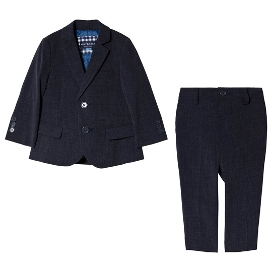 Andy & Evan Navy Suit Set NVO