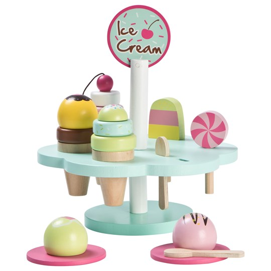 Wood Little Ice Cream Set