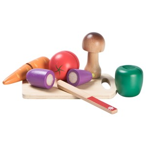 Image of Wood Little Vegetable Cutting Set (3125306593)