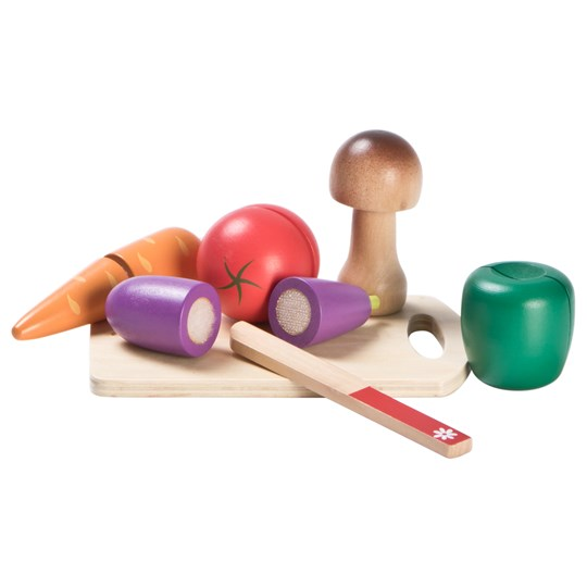 Wood Little Vegetable Cutting Set