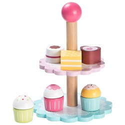 Wood Little Cupcake Stand