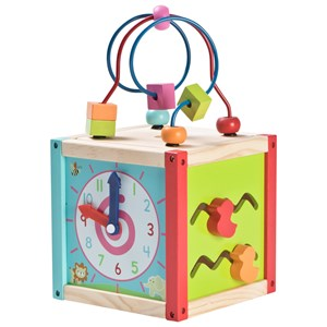 Image of Wood Little Small Activity Cube One Size (1137207)