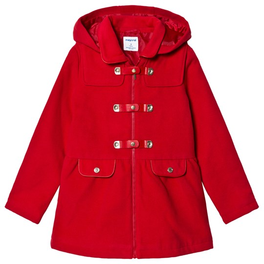 Mayoral Little Red Riding Hood Duffel Coat 40