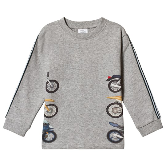 Hust&Claire Asger T-Shirt Grey Light Grey Melange