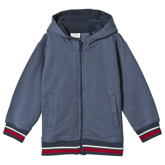 Hust&Claire Chris Zip Hoodie Blue China Blue