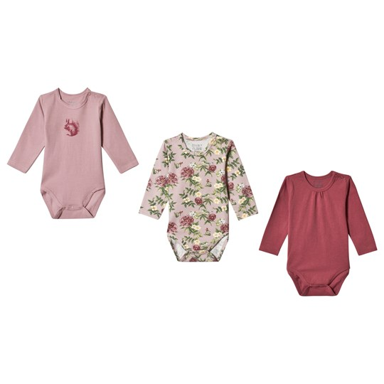 Hust&Claire 3-Pack Babett Baby Body Purple Pale lilac