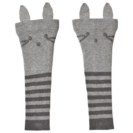 Hust&Claire Fanny Leg Warmers Grey Light Grey Melange
