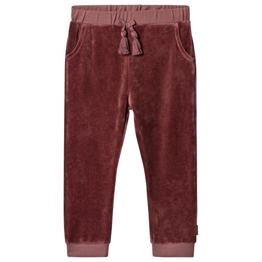 Hust&Claire Thilde Pants Red Plum wine