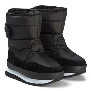 Image of Rubber Duck Nylon Suede Solid Kids Boots Black 29 EU (3125265595)