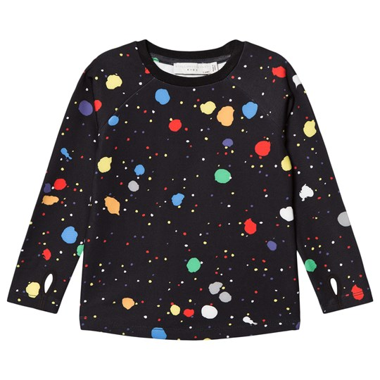 Stella McCartney Kids Black Rookie Ski Layer Top 1084 - Spotty Multicolor Pr