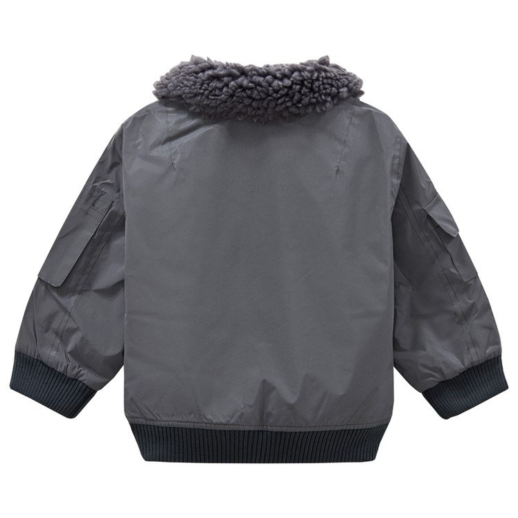 Stella McCartney Kids Grey Reflective Jacket Babyshop.no