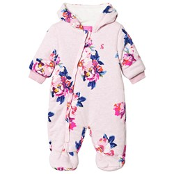 Joules Pink Floral Print Coverall