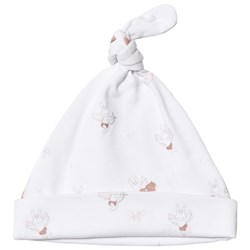 Livly Baby Bunny Angels Tossie Hat White
