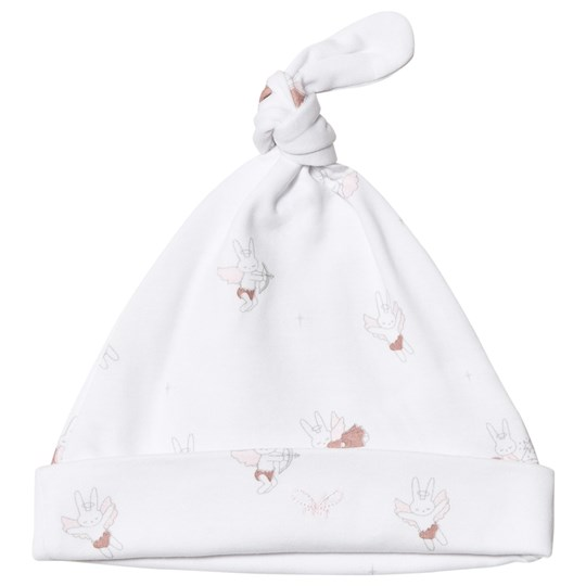 Livly Baby Bunny Angels Tossie Hat White baby bunny angels