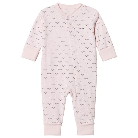 Livly Sleeping Cutie Eyes One-Piece Baby Pin mini sleeping cutie eyes/ baby pink