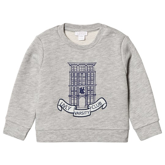Livly Livly Varsity Club Sweatshirt Light Grey light grey melange/ livly varsity club