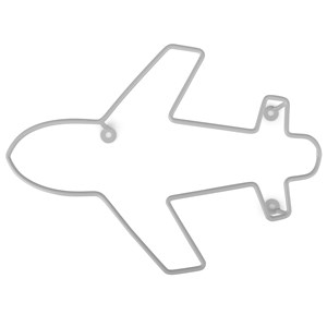 Image of FORM Living Airplane Hanger Grey (3125236225)