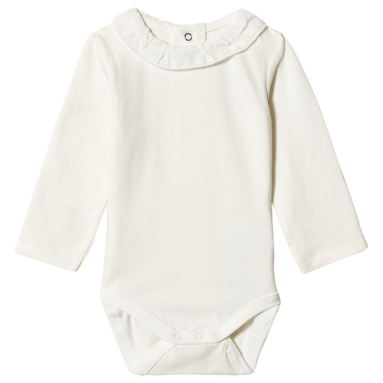 Mayoral Cream Broderie Anglaise Collar Baby Body 92