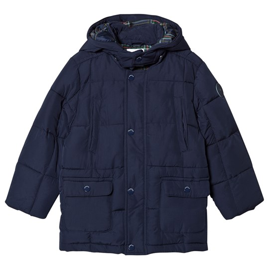 Mayoral Navy Quilted Padded Coat 64