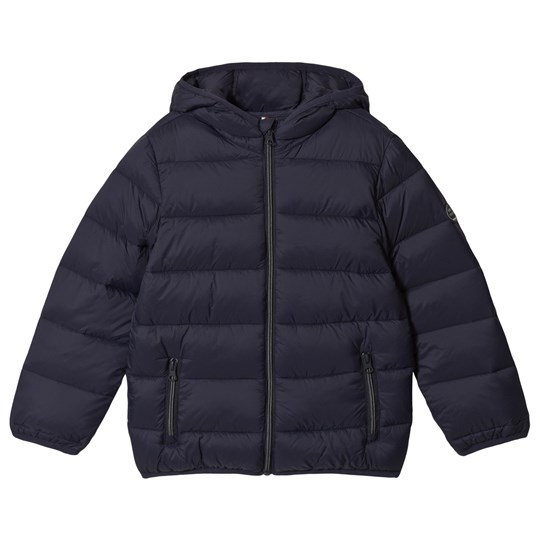 Mayoral Navy Lightweight Hooded Puffer Coat 21