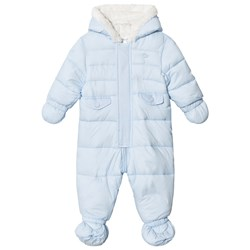 Mayoral Ice Blue Fleece Lined Coverall