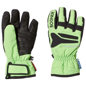 Image of Bogner Green and Black Gloves 4 (6 years) (3125257179)