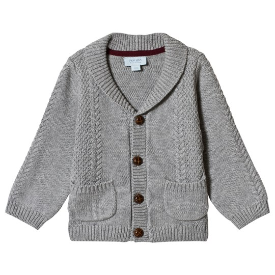 Noa Noa Miniature Cardigan Long Sleeve Grey Melange Grey Melange