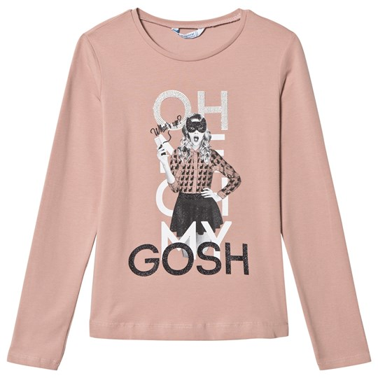 Mayoral Pink Oh My Gosh Print T-Shirt 59
