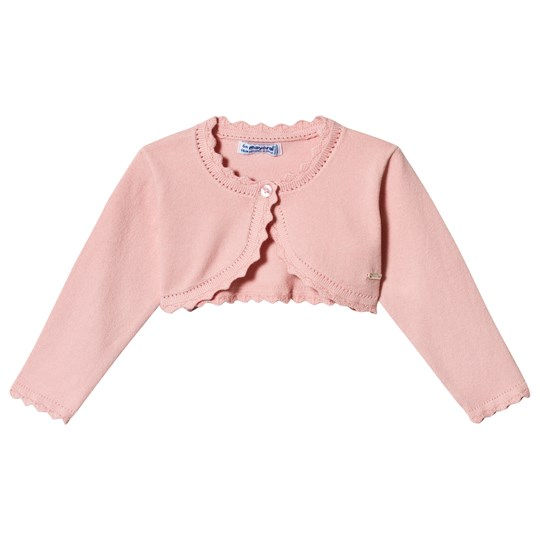Mayoral Rose Scalloped Baby Bolero 30